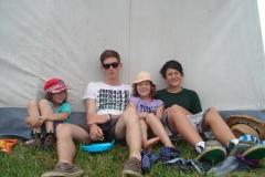 Entspannen im Zeltlager