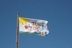 Zeltlager-Fahne 2018