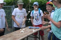 Marshmallow-Turmbau - Wer kann am höchsten bauen?